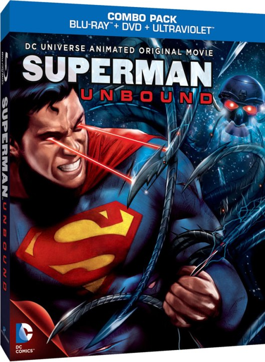 Superman Unbound Cover