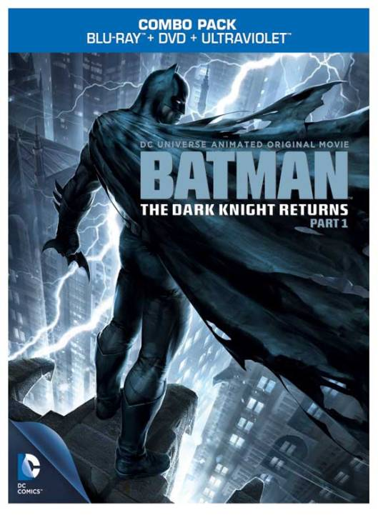 The Dark Knight Returns Pt. 1 Cover