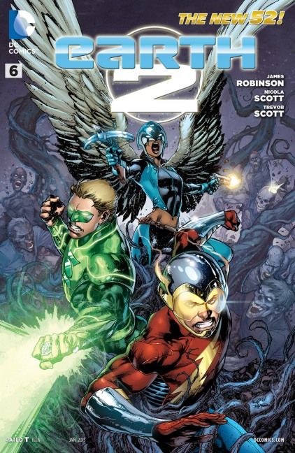 Comic Book Review: Earth 2 #6